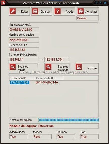 Zamzom Wireless Network Tool Espaol   Serial (Premium)