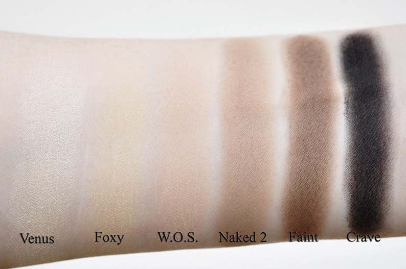 urban decay naked basics eyeshadow palette review swatches