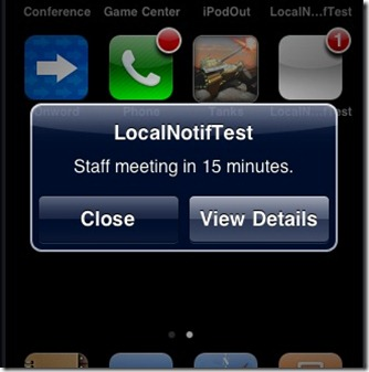 push notification in iPhone