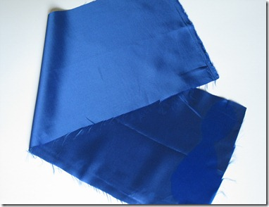 cobalt blue wedding ring bearer pillow and garter (1)