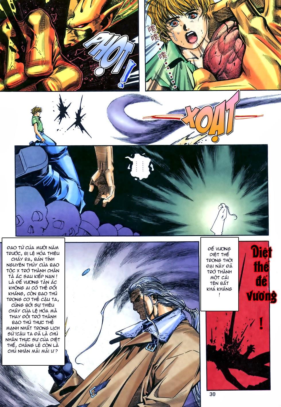 X Bạo Tộc chap 69 - Trang 30