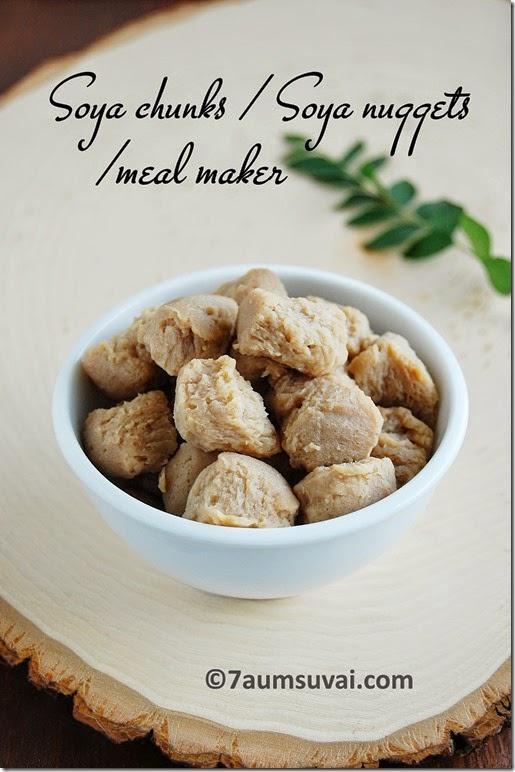 Soya chunks / soya nuggets
