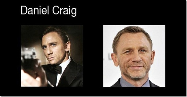 James Bond antes e depois (6)
