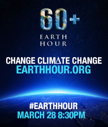 Earth Hour 2015 :)