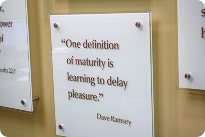 definition of maturity