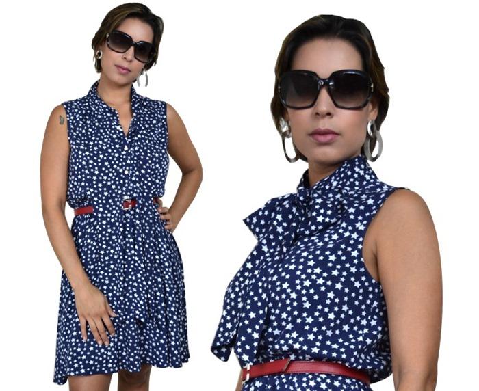 vestido estrelinha moda de novela estilo vanessa - 07