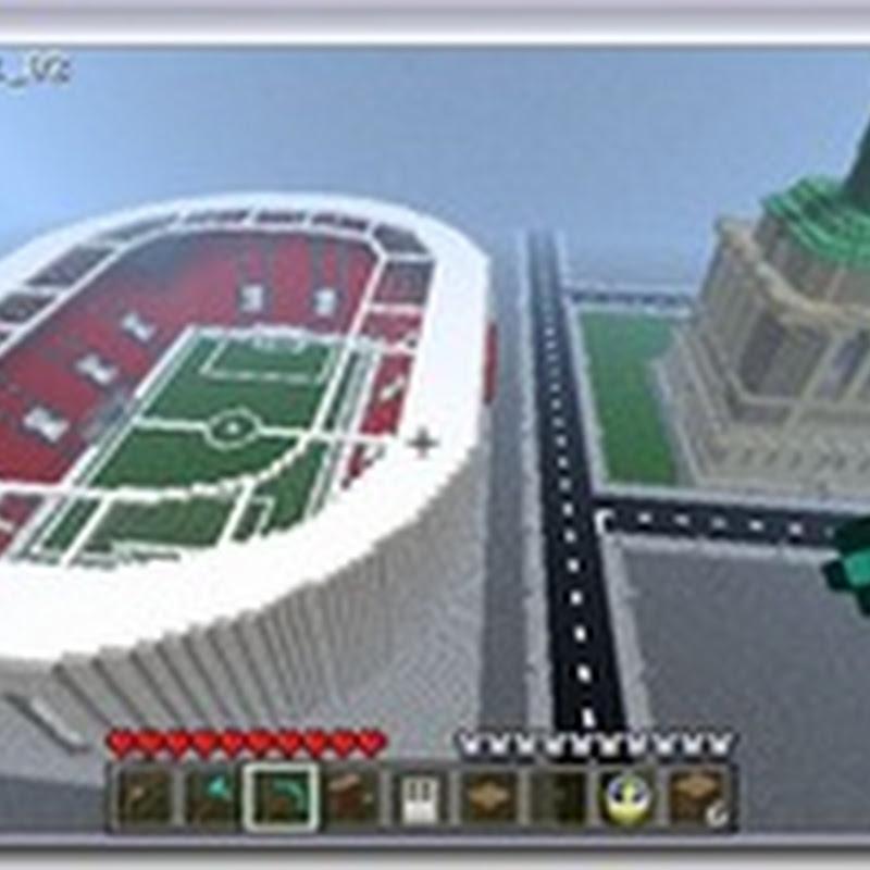Minecraft - Football Stadium Mod