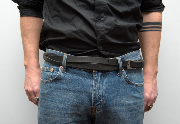 08 AM8 leather belt