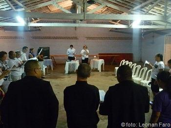 Formação para os coordenadores das peregrinações 2011 paróquia nossa senhora da conceição benfica benevides pará