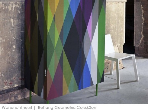 Behang-Geometric--van-Cole&Son