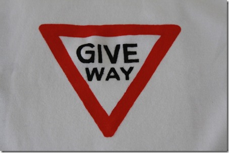 Give Way T-shirt (3)