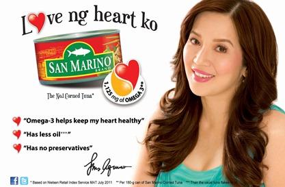 Kris Love ng Heart Ko Print Ad
