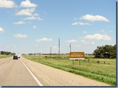 2140 Manitoba TC-1A East - Welcome to Brandon sign