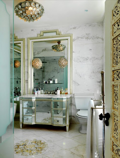 These light fixtures look like decorations to me.  (cocoandkelley.blogspot.com)