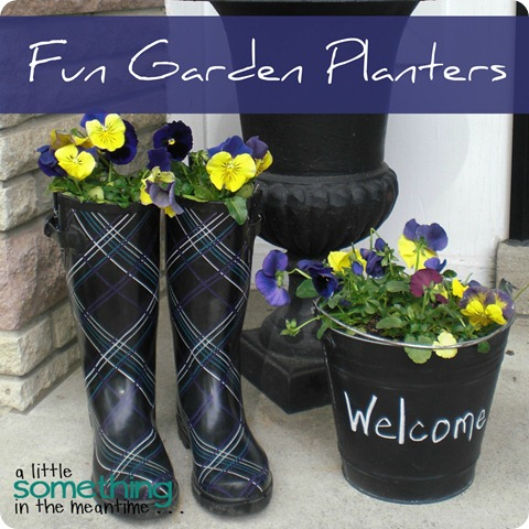 Fun Garden Planters WM Square