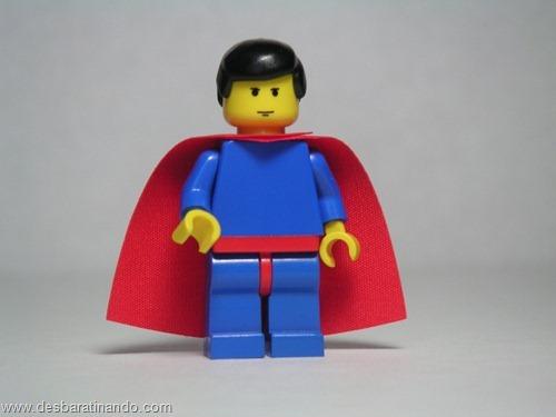 Super homem super heróis de lego desbaratinando  (3)