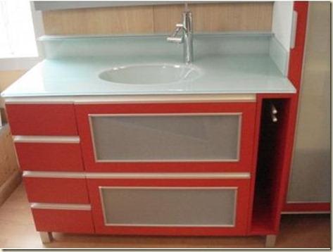 Muebles de cristal para baños 3
