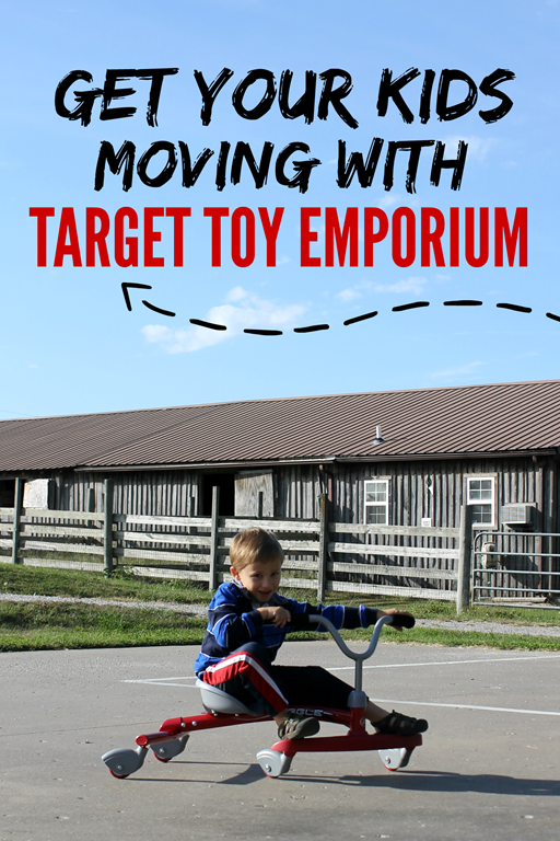 #shop Get Your Kids Moving with Target Toy Emporium #targettoys #collectivebias