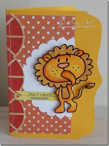 Don%27t Worry Lion by Amy Duff