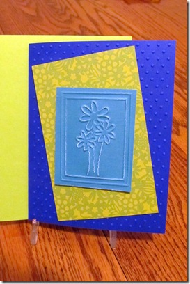 Textured Cards Sept 2011