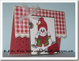 Cute Snowman Christmas Card (9)
