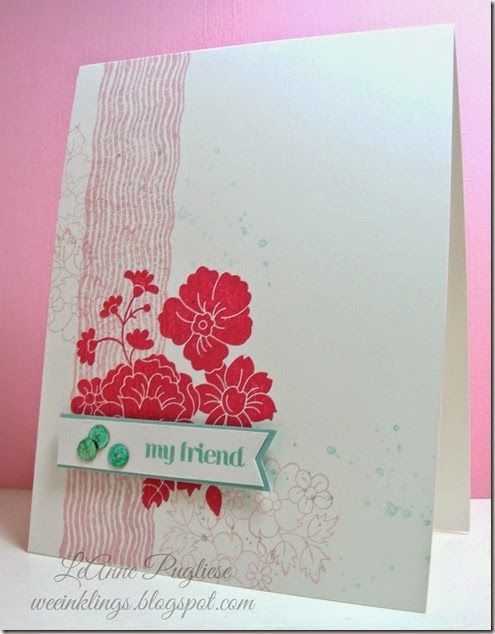 LeAnne Pugliese WeeInklings Hello Darling Stampin UP-002