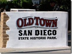 Old Town San Diego Entrance