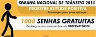 curso pedestre atitude positiva 1000 senhas gratuitas