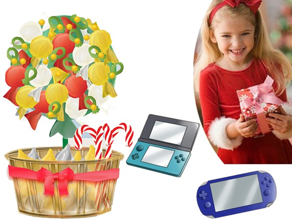 Candy box and PlayStations