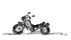 rajesh r nair - bike sketch