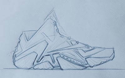 nike lebron 11 xx design sketch 2 02 Complex Names NIKE LEBRON 11 as #1 Shoe of the Year for 2013