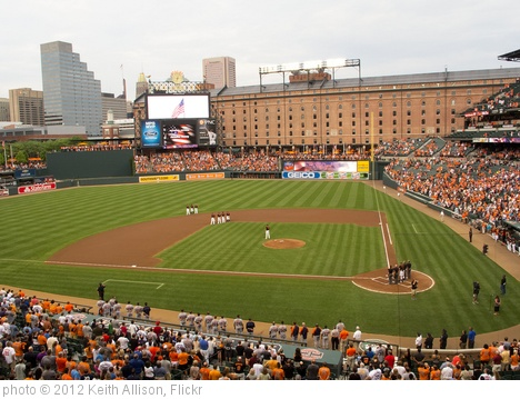 'Camden Yards' photo (c) 2012, Keith Allison - license: http://creativecommons.org/licenses/by-sa/2.0/