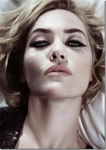 Kate Winslet make up