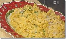 Pappardelle con noci e gorgonzola