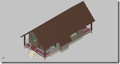Deck (Architectural Model) Autodesk Inventor 2012