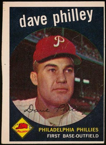 1959 Topps 92 Dave Philley raw