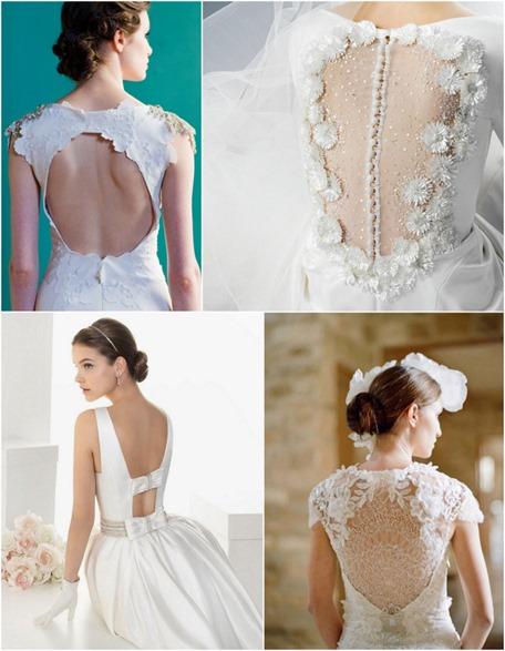 vestidos de novia espalda