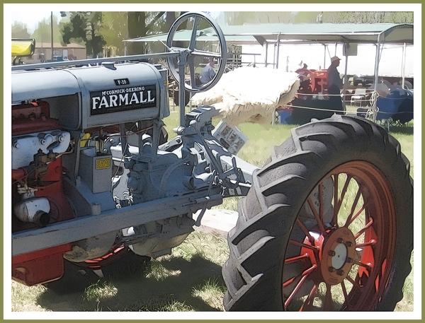 Farmall gray