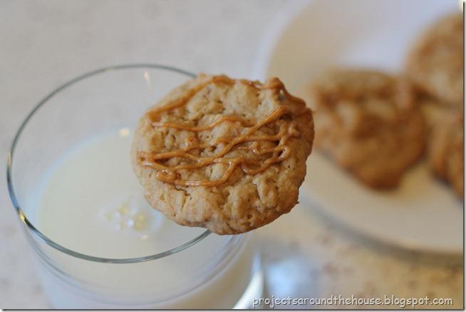 peanut butter oatemal cookie 1