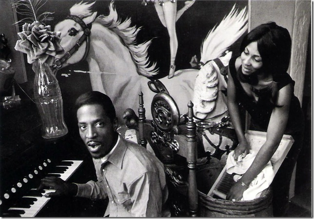 Dennis Hopper. Courtesy Tony Shafrazi Gallery. Ike and Tina Turner. Photographie 1961-67.