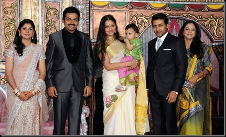 karthi ranjini wedding reception stills-23