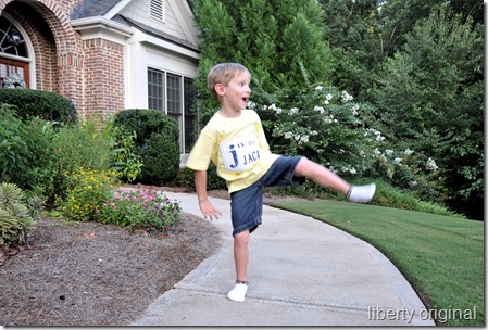 Jack Shirt High Kick