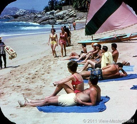 View-Master Acapulco (B003), Scene 4: Hotel Presedente Beach