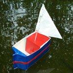 Milk carton boat 2