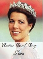 Cartier Pearl Drop Tiara