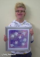 In 2007 worden de kunstwerken van de P-leerlingen o.a. geëxposeerd in het ziekenhuis te Hardenberg (4)