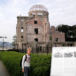 this is where the atomic bomb dropped in Hiroshima, Hirosima (Hiroshima), Japan