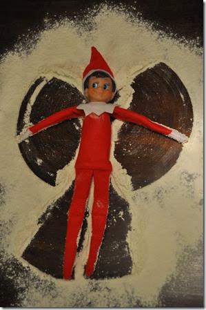 "Elf on the Shelf - ""Snow"" Angel"
