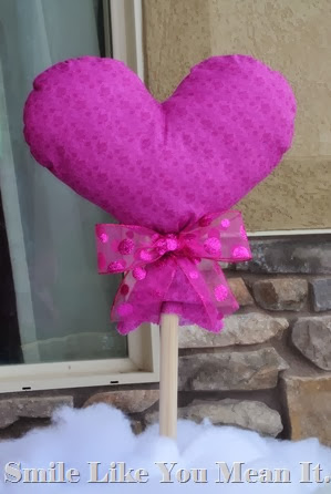 Heart Pillow Sticks