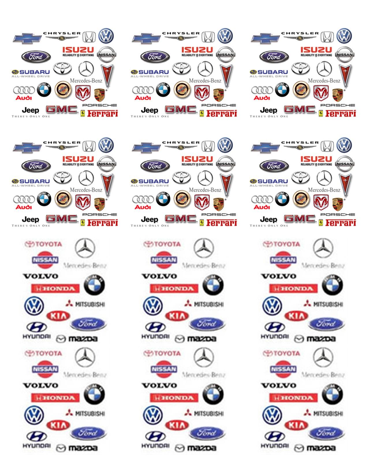 Car Manufacturer Logos And Names New Cars Upcoming 2019 2020